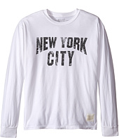 The Original Retro Brand Kids - New York City Long Sleeve Slub T-Shirt (Big Kids)
