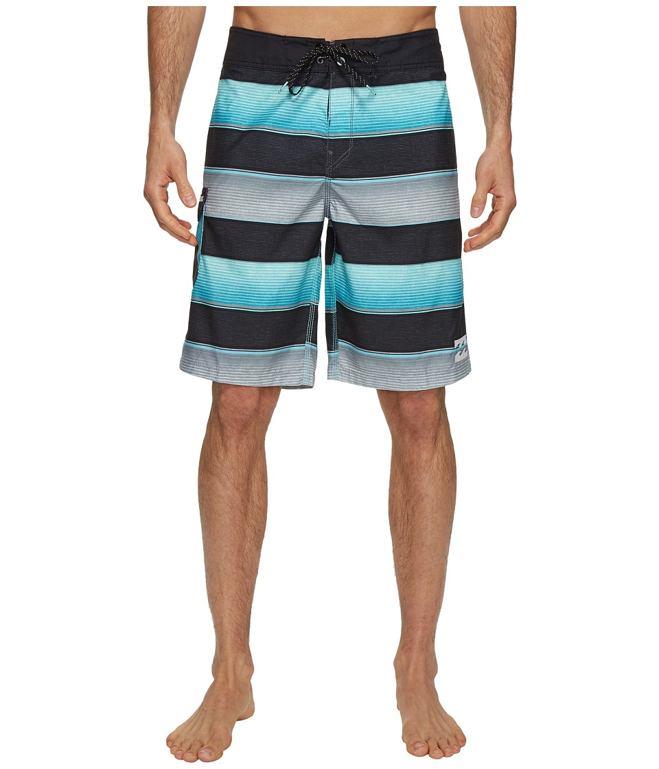 Billabong All Day Originals Stripe Boardshorts (Mint) Men