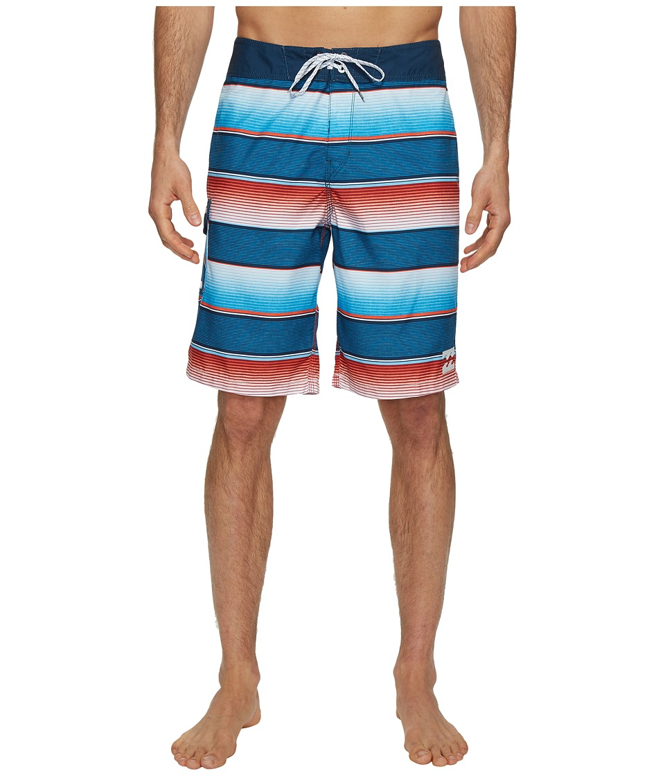 Billabong All Day Originals Stripe Boardshorts (Red) Men
