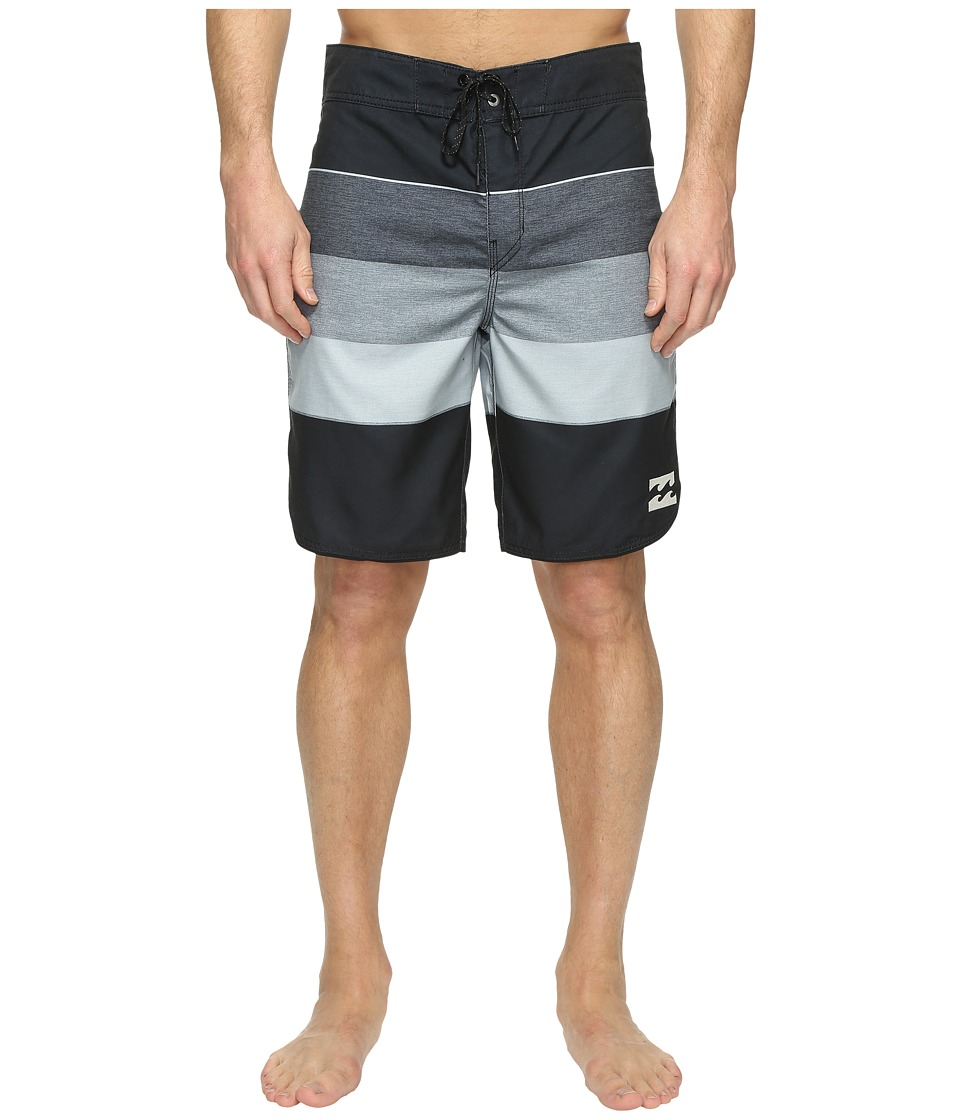 Billabong 73 Originals Stripe Boardshorts (Black) Men