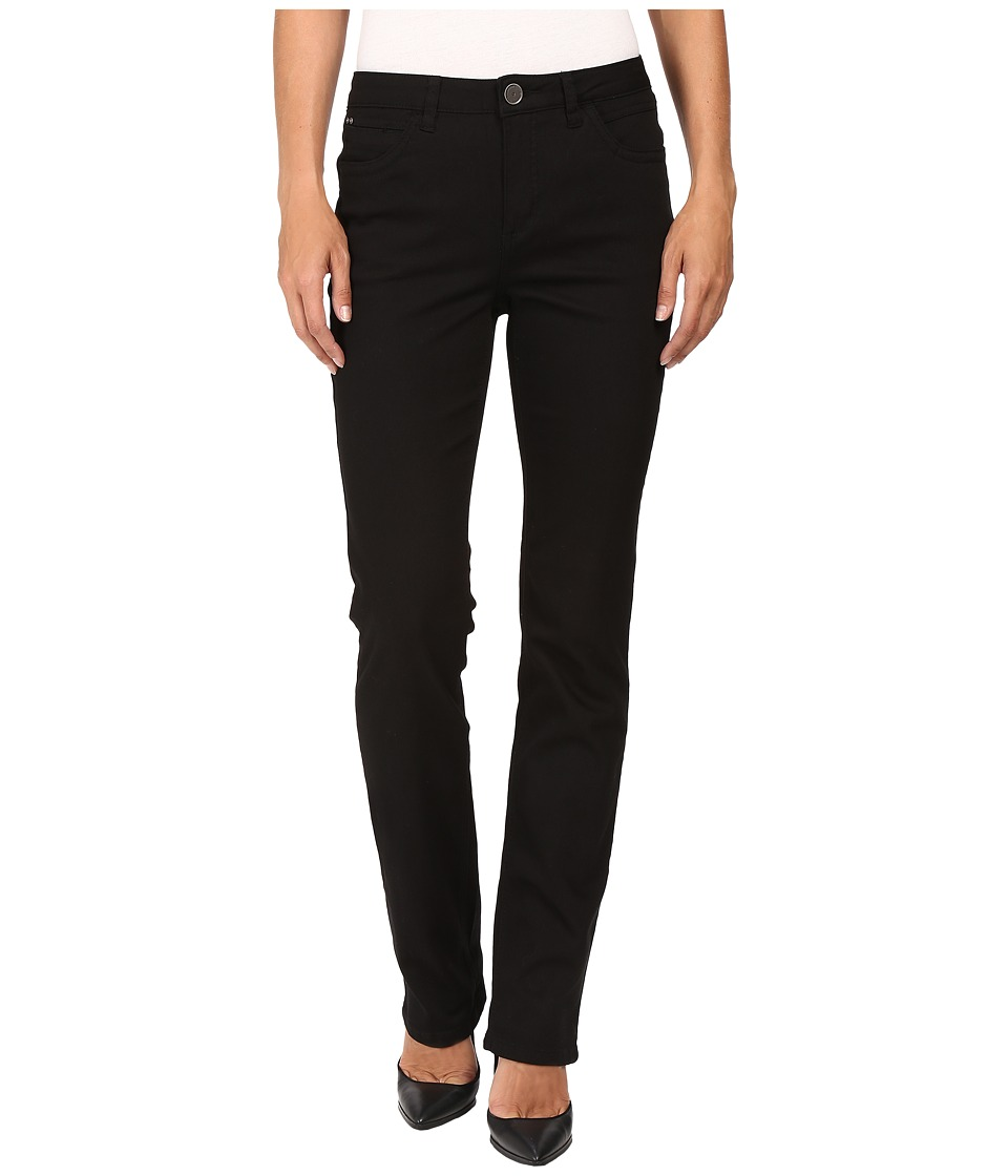 FDJ French Dressing Jeans - Supreme Denim Olivia Straight Leg in Black (Black) Womens Jeans