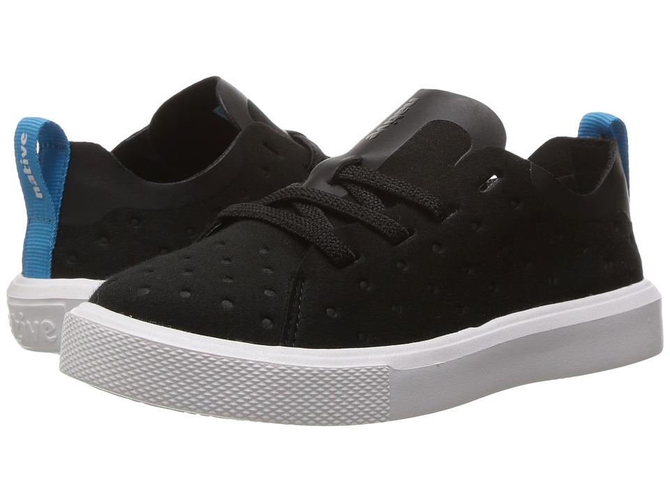 Native Kids Shoes Monaco Slip-On Sneaker (Toddler/Little Kid) (Jiffy Black/Shell White) Kids Shoes