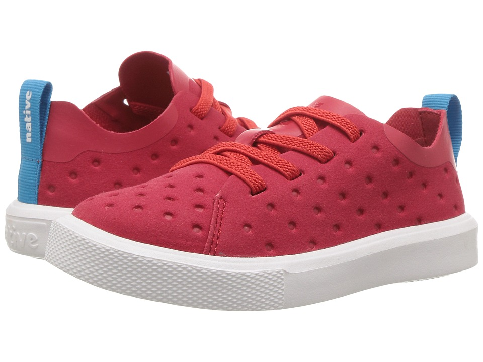 Native Kids Shoes - Monaco Slip-On Sneaker (Toddler/Little Kid) (Torch Red) Kids Shoes