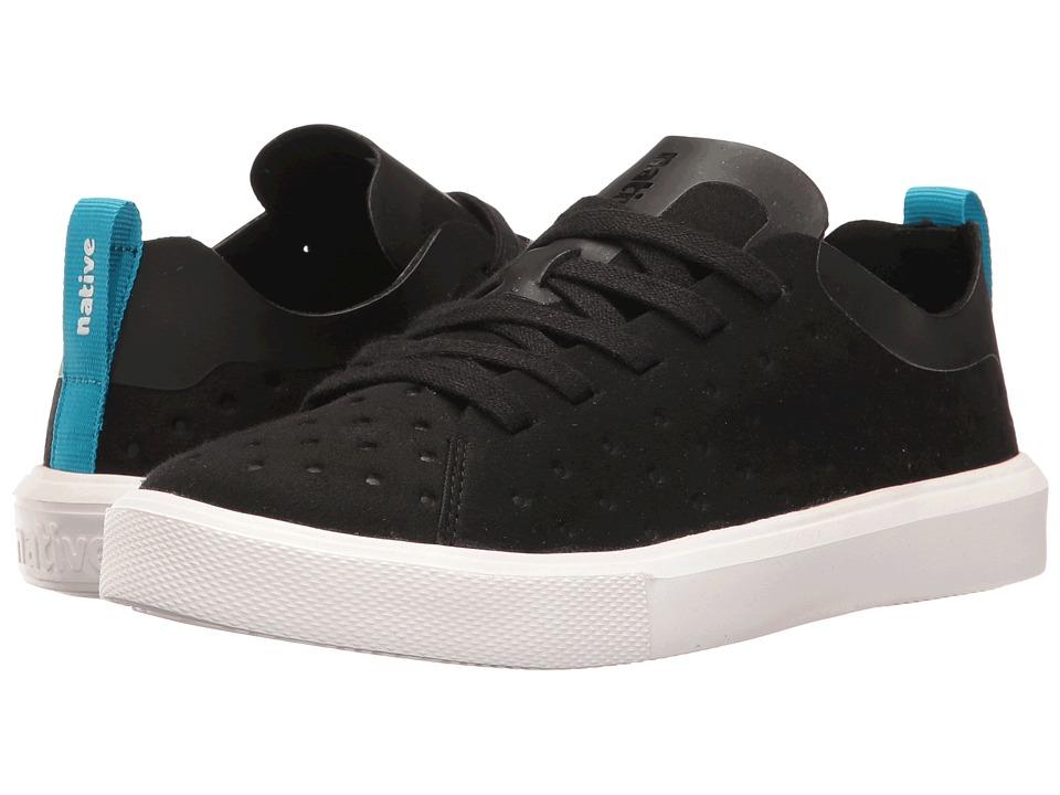 Native Kids Shoes Monaco Sneaker (Little Kid) (Jiffy Black/Shell White) Kids Shoes