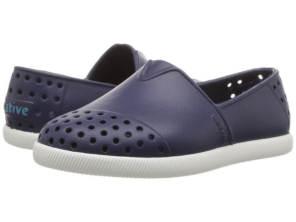 Native Kids Shoes Verona (Toddler/Little Kid) (Regatta Blue/Shell White) Kid's Shoes