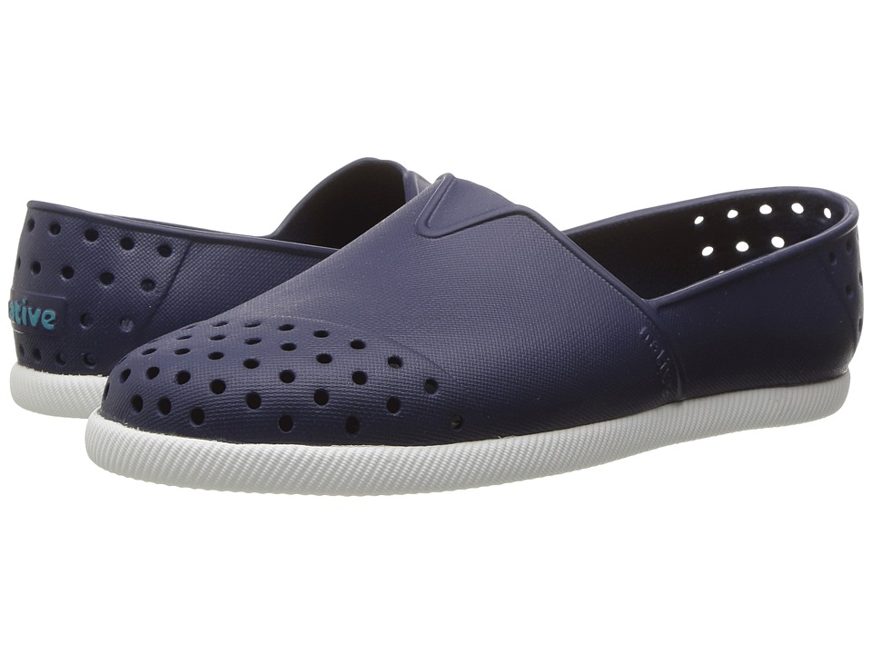 Native Kids Shoes Verona (Little Kid) (Regatta Blue/Shell White) Kid's Shoes