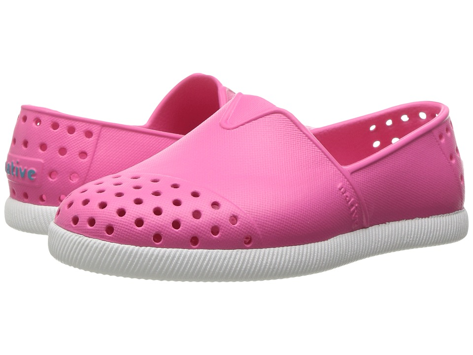 Native Kids Shoes Verona (Toddler/Little Kid) (Hollywood Pink/Shell White) Girl's Shoes