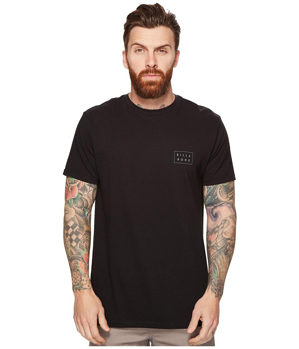 Billabong Die Cut Printed T-Shirt (Black) Men