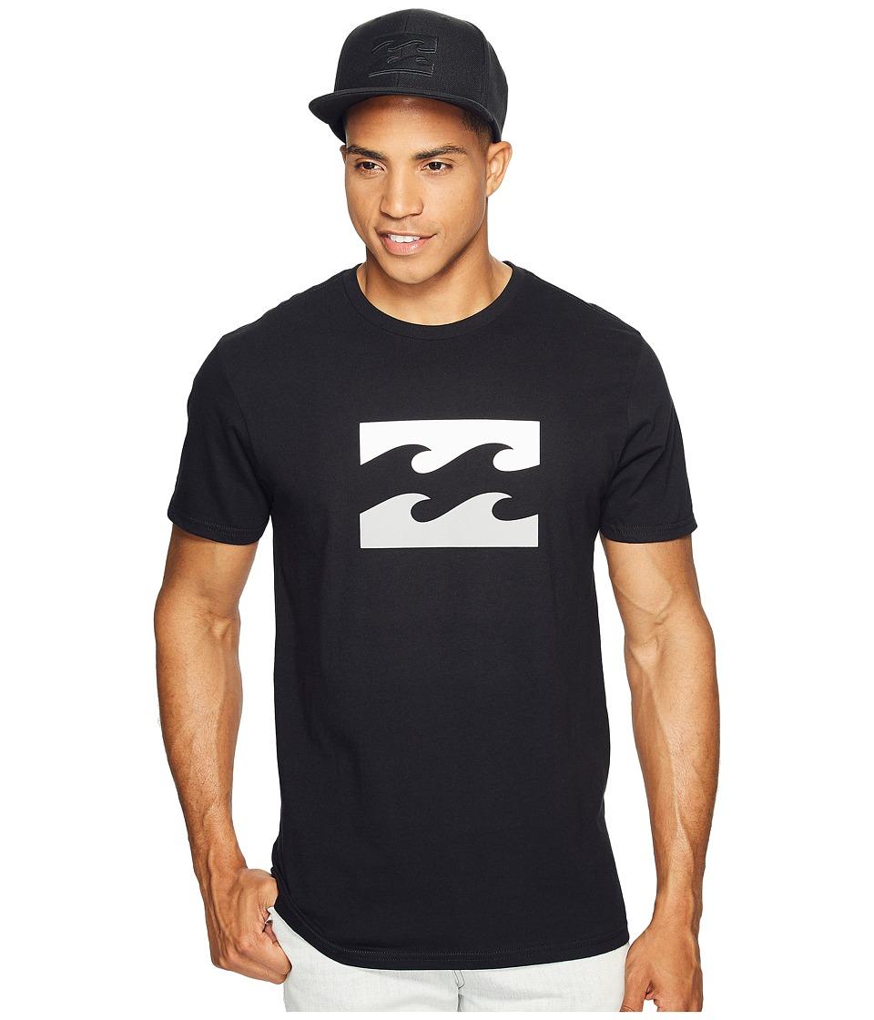 Billabong Wave Printed T-Shirt (Black) Men