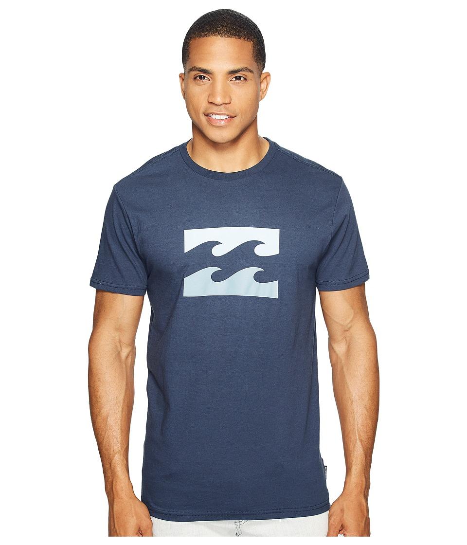 Billabong Wave Printed T-Shirt (Navy) Men