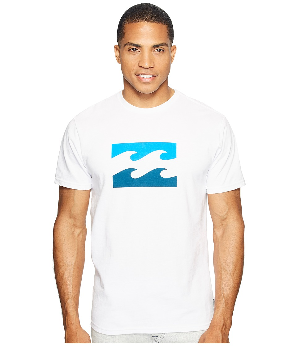 Billabong Wave Printed T-Shirt (White) Men