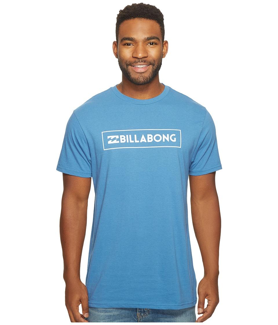 Billabong Unity Block Printed T-Shirt (Royal) Men