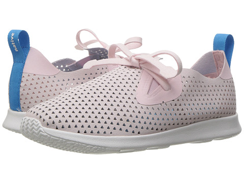 Native Kids Shoes Apollo Moc XL Perforated (Little Kid) - Milk Pink/Shell White/Triangle Perf