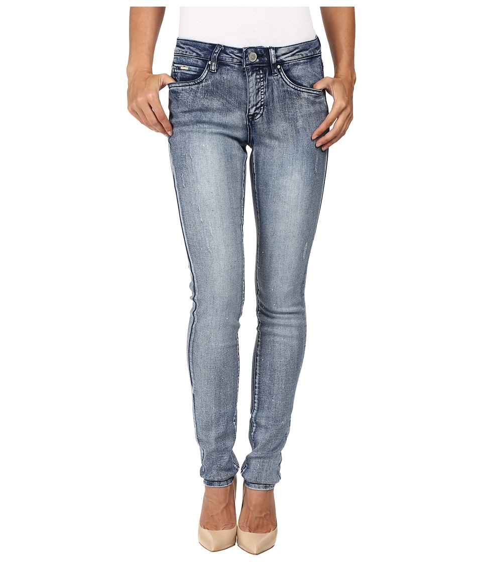 FDJ French Dressing Jeans - Olivia Slim with Crystals Jeans in Indigo