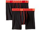 adidas Kids Sport Performance Climalite 2-Pack Boxer Brief (Big Kids)
