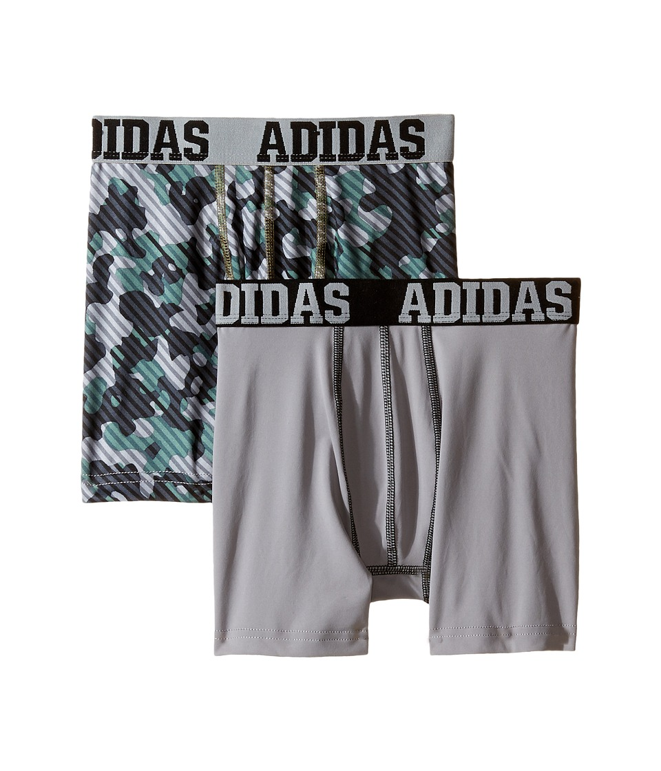 adidas Kids - Sport Performance Climalite Graphic 2-Pack Boxer Brief