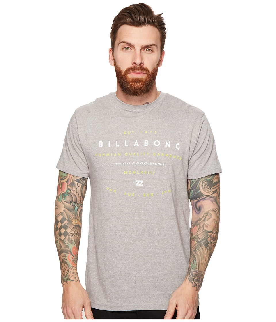 Billabong Ambassador Printed T-Shirt (Grey) Men