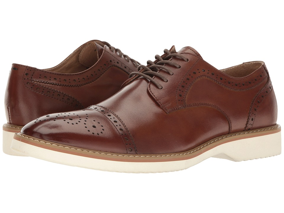 Florsheim Union Cap Toe Oxford (Brown Smooth) Men