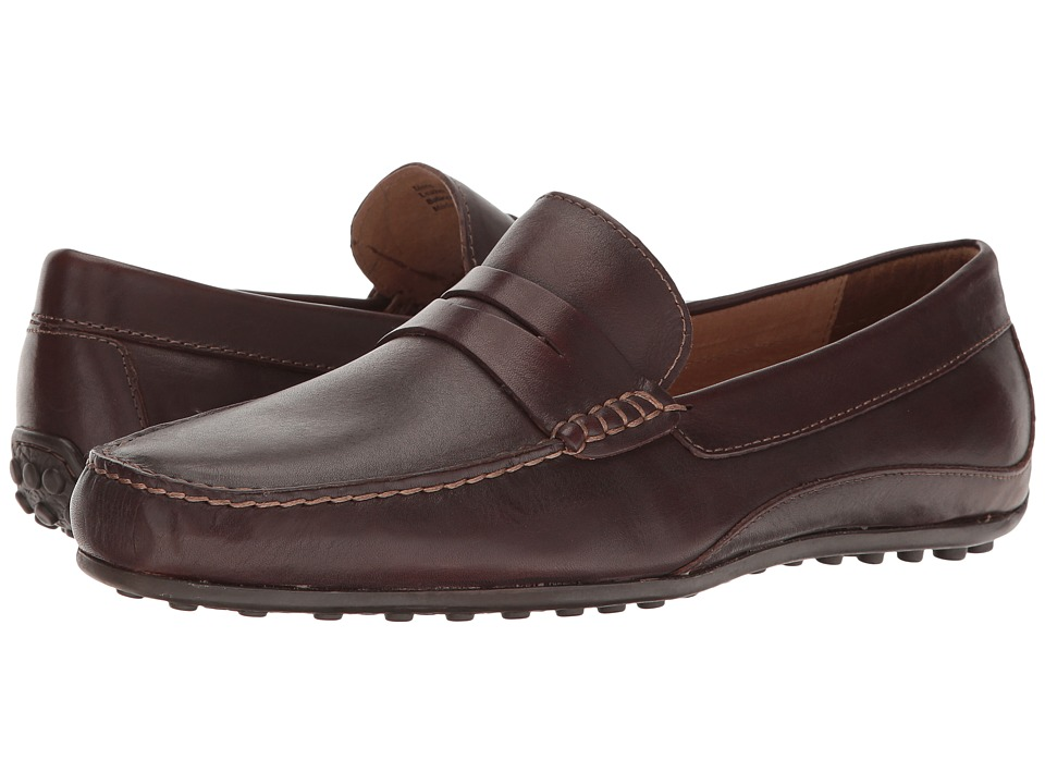 Florsheim Oval Penny Driver (Brown Smooth) Men