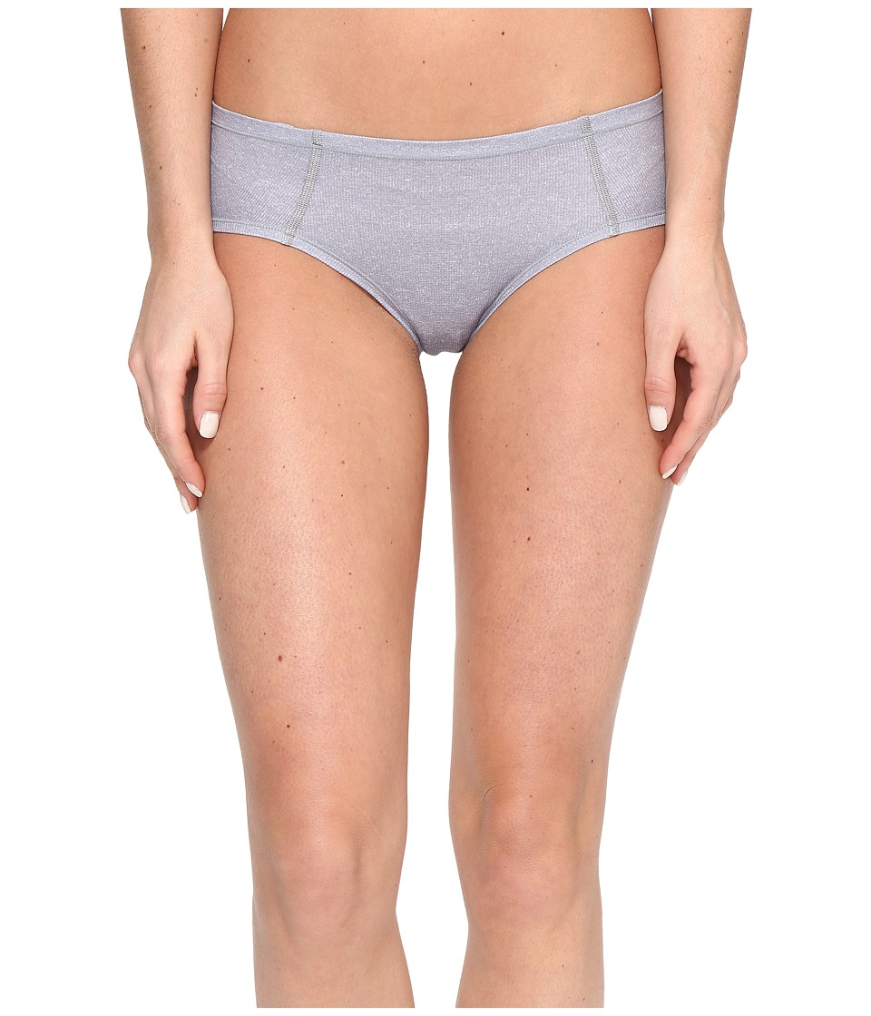 adidas - Superlite Underwear Single Cheekster (Grey Static Heather/Matte Silver) Women's Underwear