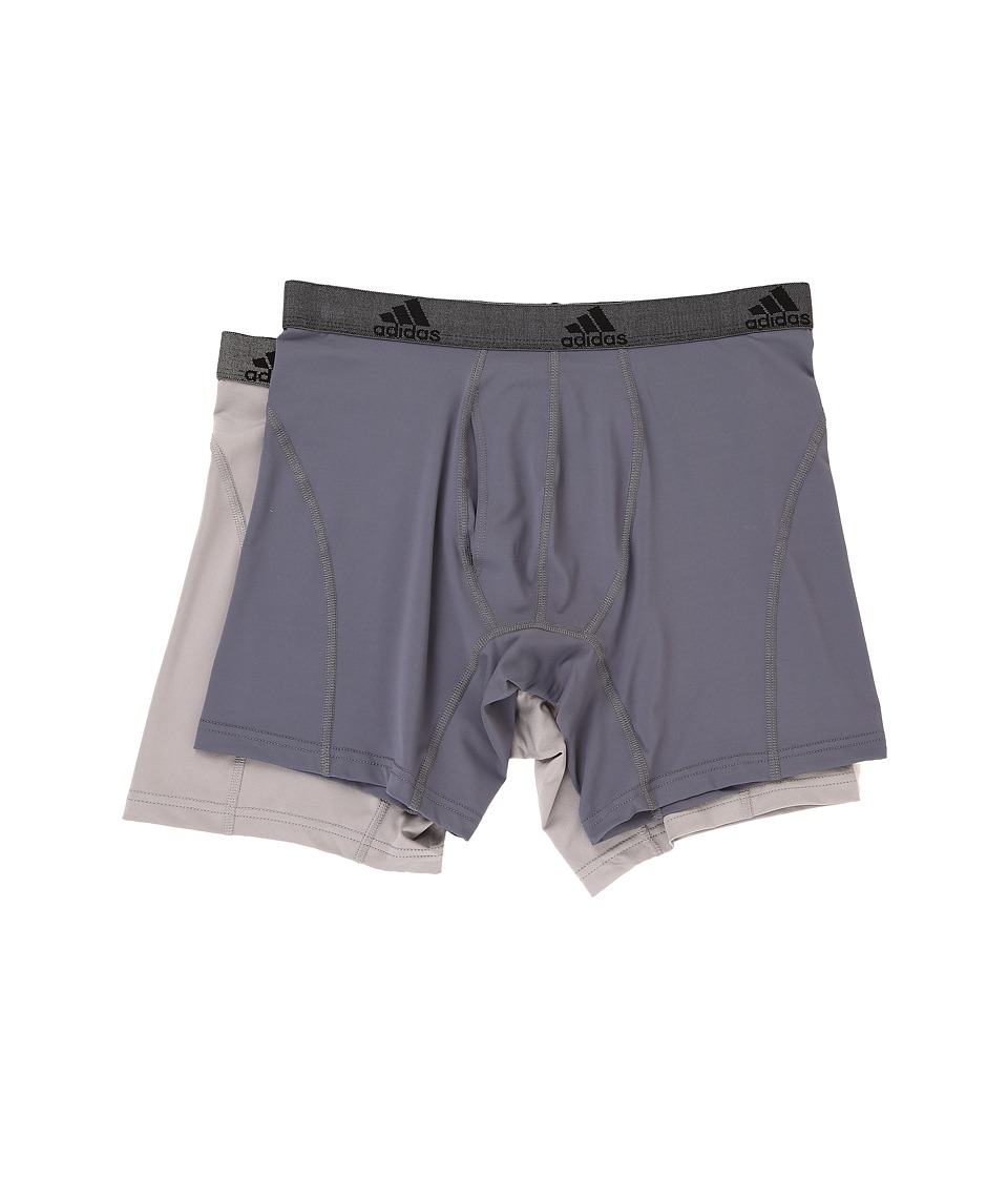 adidas - Relaxed Performance Climalite 2-Pack Boxer Brief