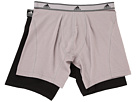 adidas adidas Relaxed Performance Stretch Cotton 2-Pack Boxer Brief