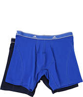 adidas - Relaxed Performance Stretch Cotton 2-Pack Boxer Brief