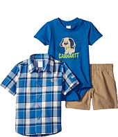 Carhartt Kids - Three-Piece Canyon Brown Short Set (Infant)