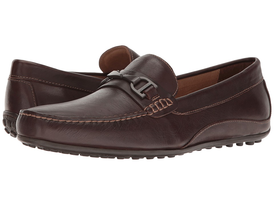 Florsheim Oval Bit Driver (Brown Smooth) Men