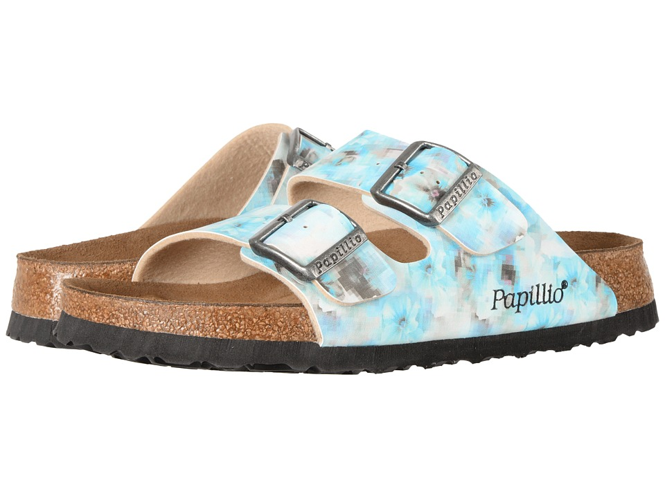 Birkenstock Arizona Soft Footbed (Pixel Blue Birko-Flor) Women