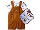 Carhartt Kids - Three-Piece Shortall Gift Set (Infant)