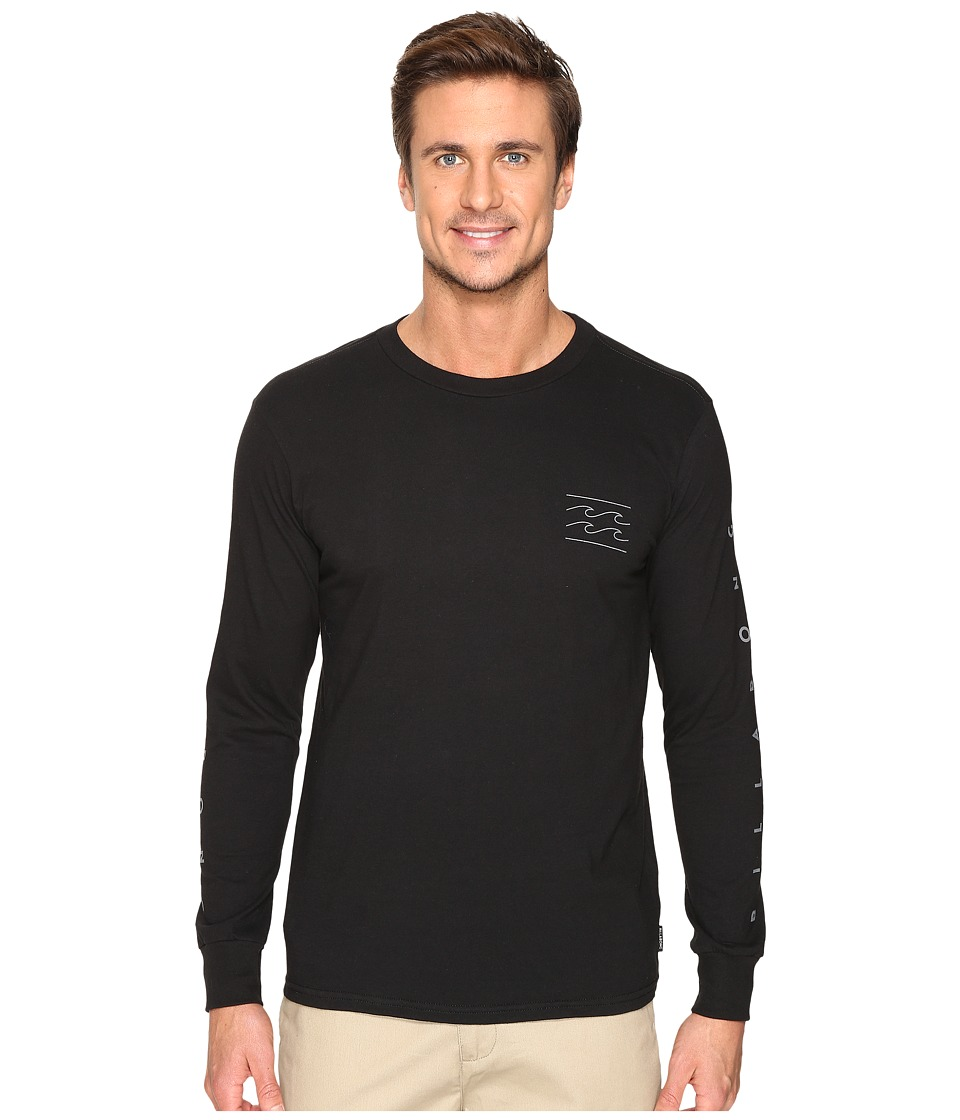 Billabong Unity Sleeve Printed T-Shirt (Black) Men