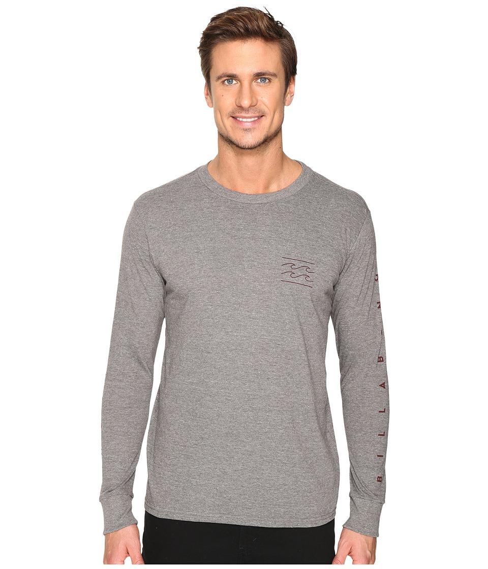 Billabong Unity Sleeve Printed T-Shirt (Dark Grey) Men