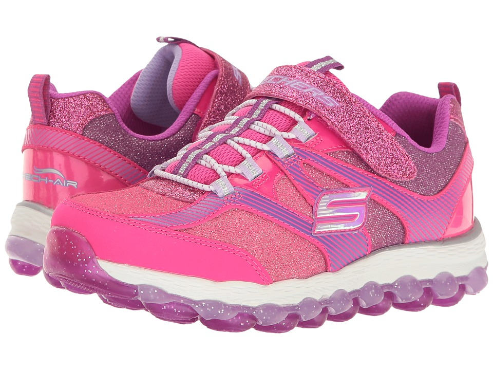 SKECHERS KIDS - Skech Air Ultra 80036L (Little Kid/Big Kid) (Neon Pink/Purple) Girls Shoes