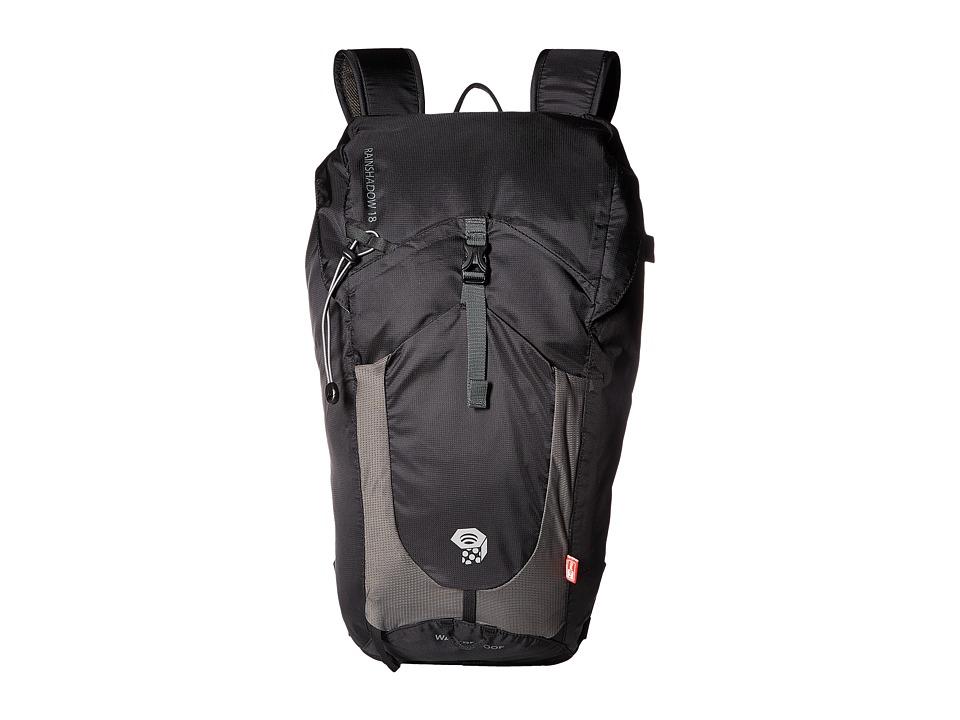 3741bf5ad42c8 Mountain Hardwear Rainshadow 18 OutDry(r) Backpack (Black) Backpack Bags