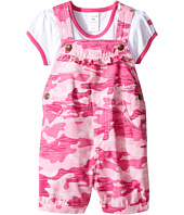 Carhartt Kids - Camo Shortall Set (Infant)