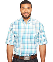 Stetson - 0820 Blue Springs Plaid Short Sleeve Button