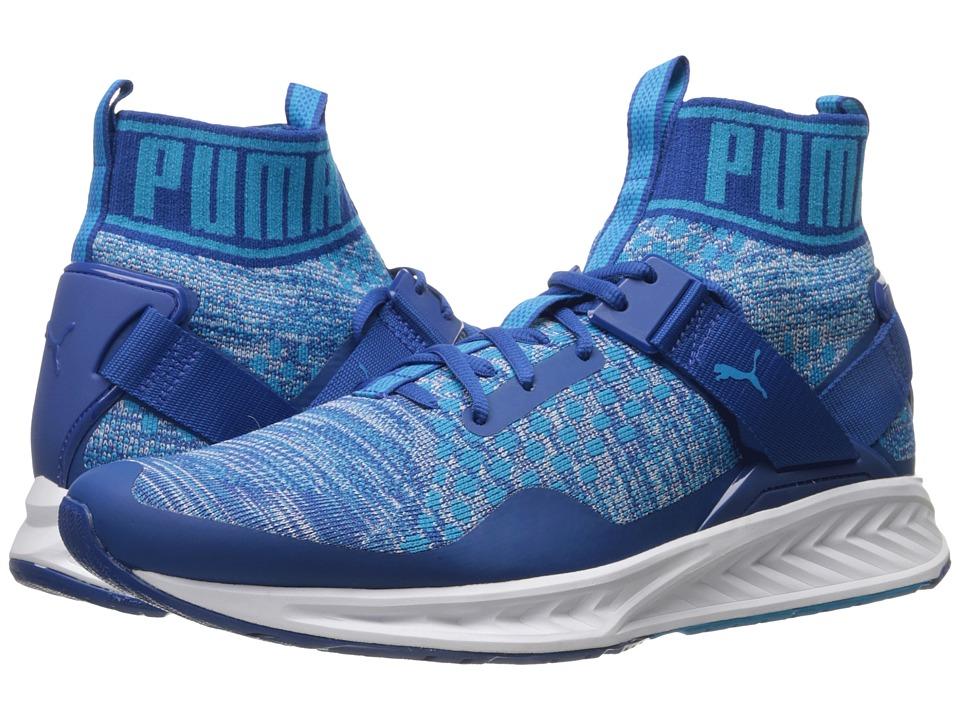 PUMA Ignite evoKNIT (True Blue/Blue Danube/Puma White) Men