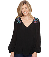 Stetson - 0882 V-Neck Peasant Blouse