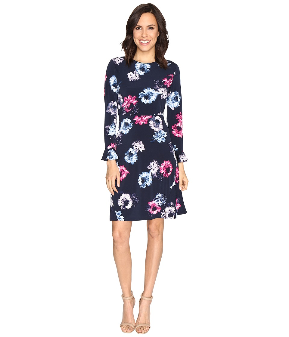 Ellen Tracy - Flutter Sleeve Dress