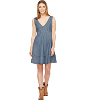 Stetson - Sleeveless Denim Dress Full Skirt