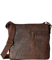 Scully - Hidesign Adrian Distressed Leather Flap Over Bag