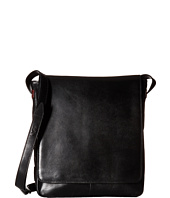 Scully - Hidesign Leather Upright Laptop Messenger Brief Bag
