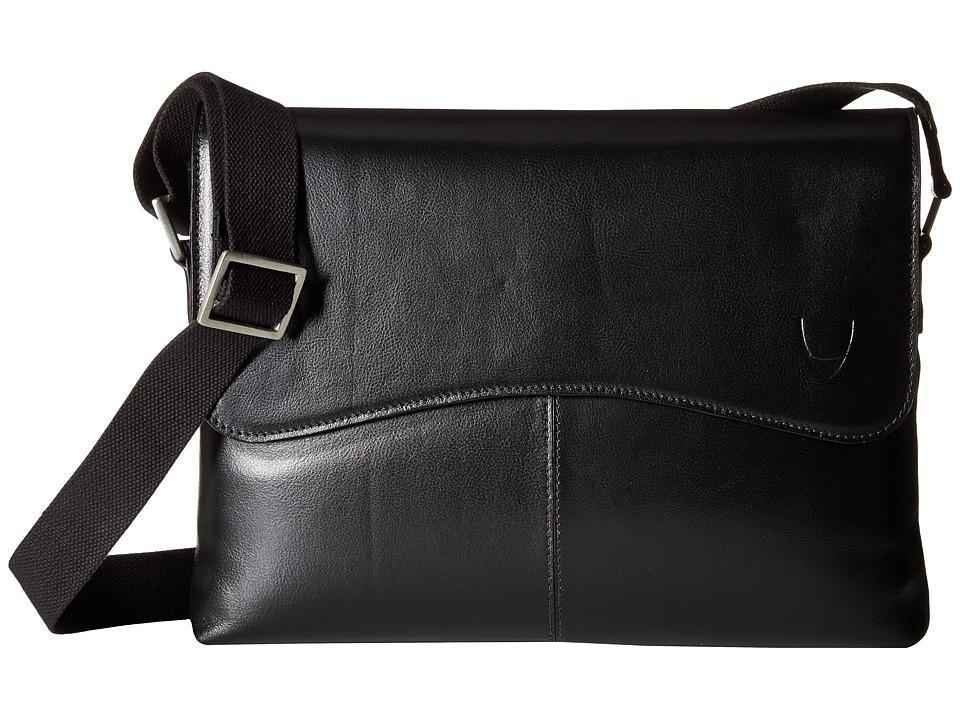 Scully Hidesign Liam Laptop Brief (Black) Briefcase Bags