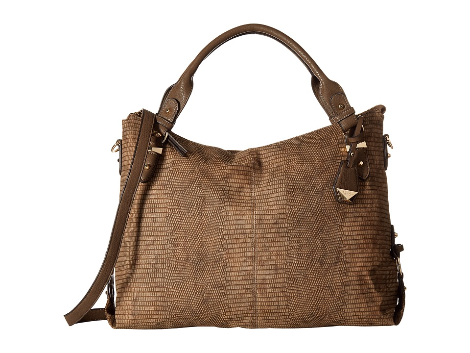Jessica Simpson - Mara Crossbody Tote (Henna Snake) Satchel Handbags