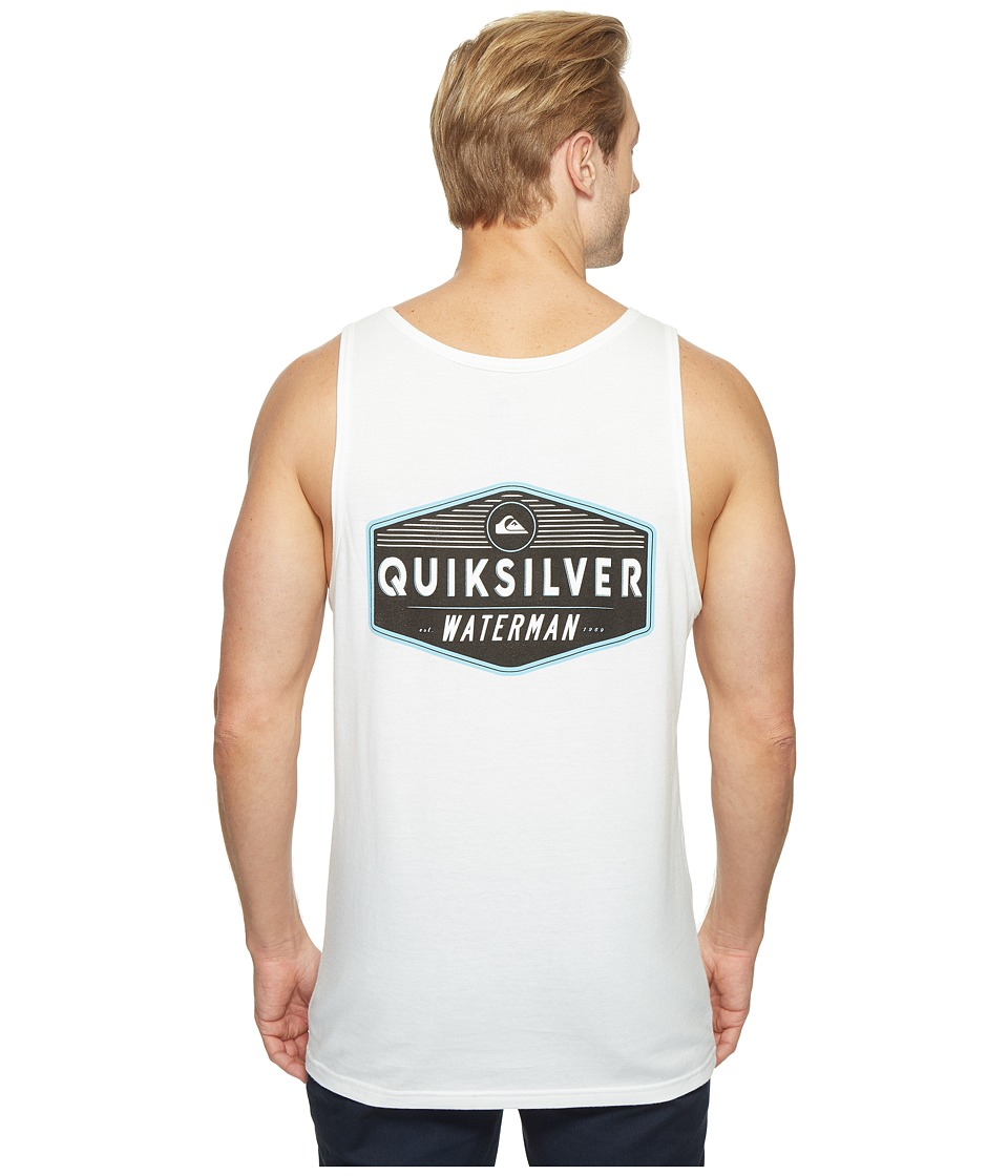 Quiksilver Waterman Sacred Tank Top (White) Men