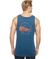 Quiksilver Waterman - Live to Fish Short Sleeve Tank Top