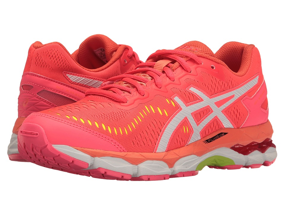 ASICS Kids Gel-Kayano 23 GS (Little Kid/Big Kid) (Diva Pink/White/F Coral) Girls Shoes
