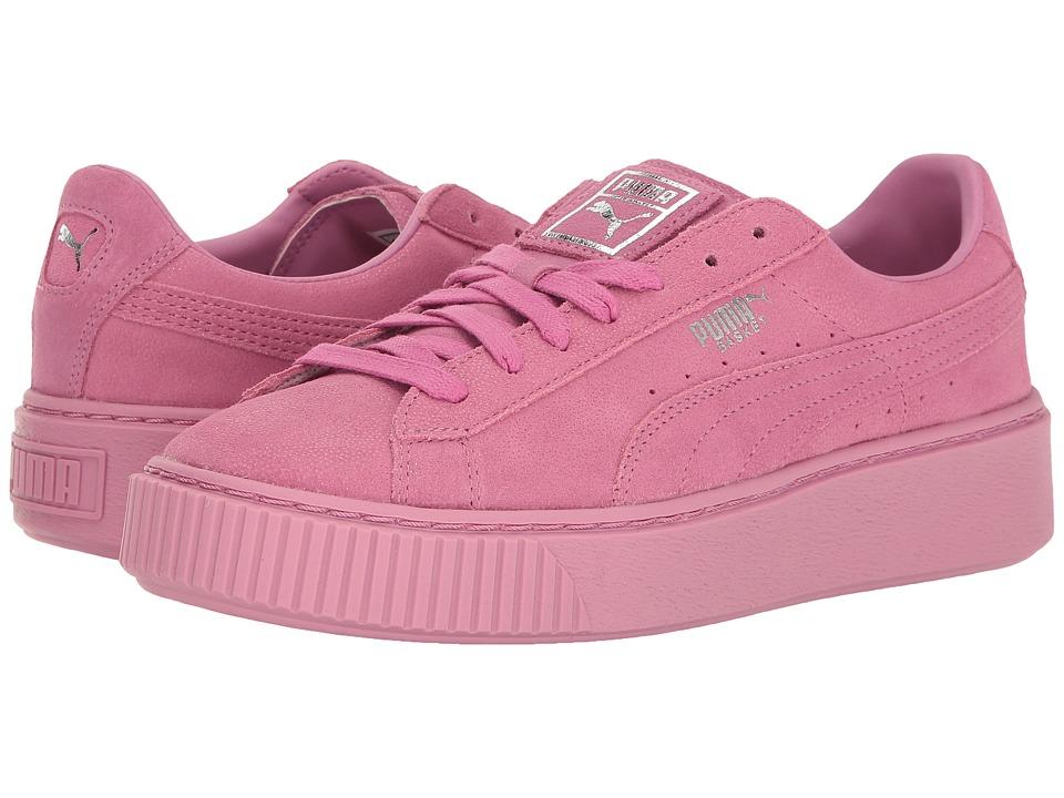 PUMA - Puma Platform Reset (Prism Pink/Prism Pink) Womens Shoes