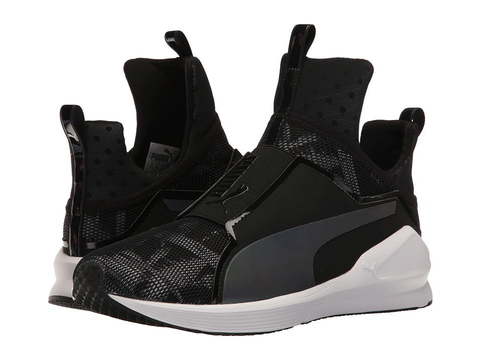 PUMA - Fierce Swan (Puma Black/Puma White) Womens Shoes